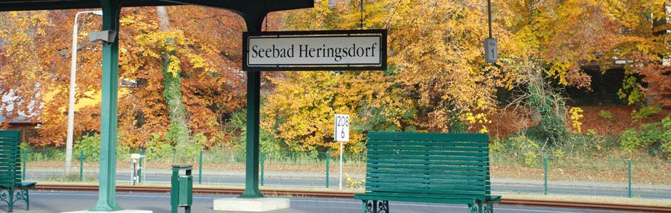Anreise zur Ferienwohnung Ferienhaus TUSCULUM in der Villa Hintze Seebad Heringsdorf Usedom per Bahn, Flugzeug oder Auto
